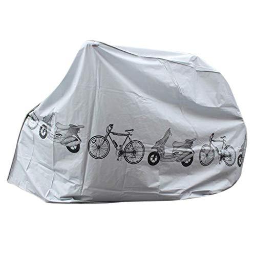 GHFGSJGBC Capot de bicycletteNouveau Vélo De Vélo D'arrivée Imperméable À l'eau Et Antipoussière UV Shield Vélo Vélo Pump Bike Accessoires Utiles Équipements De Vélo Couvre
