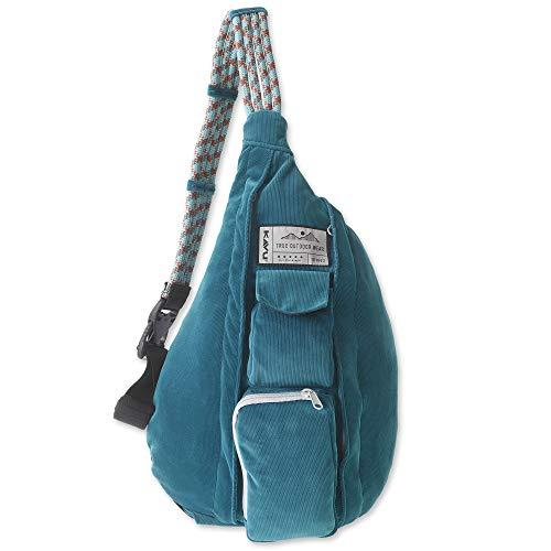 KAVU Original Rope Cord Sling Rope Crossbody Bag - Arctic Teal