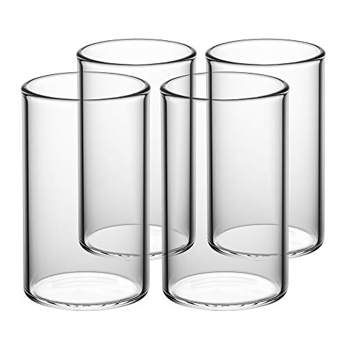 GAIWAN ICEGOLD330 x4: Set de 4 Vasos de Agua, Copa de Cóctel 33 Cl, 330 ml, 0.3