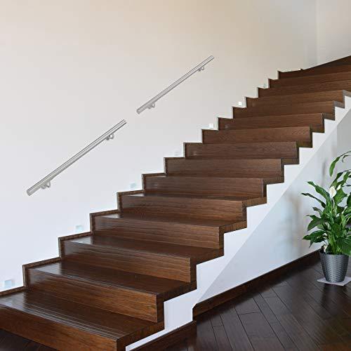 Size : 25cm Komplett-Set |Treppen Gel/änder for Behinderte /Ältere Kinder Black Metal Schmiedeeisen Externe Au/ßenwandhalterung handlaufst/ützen AA+ Handrails Vintage Handlauf 25-600cm