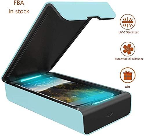 紫外線消毒ボックス UV マスク滅菌器 除菌 消毒 殺菌 滅菌紫外線 抗菌多機能旅行ケース iPhone Android 対応USB給電 家庭オフィス用除菌器 簡単操作 多機能携帯便利 旅行 ギフトに最適