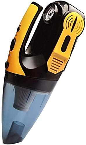 JQDMBH Aspiradora de Mano Aspirador inalámbrico, Dispositivo de Mano húmedo y seco Alquiler de Casas en casa, barrendero de vacío for automóvil Catcher de Polvo seco