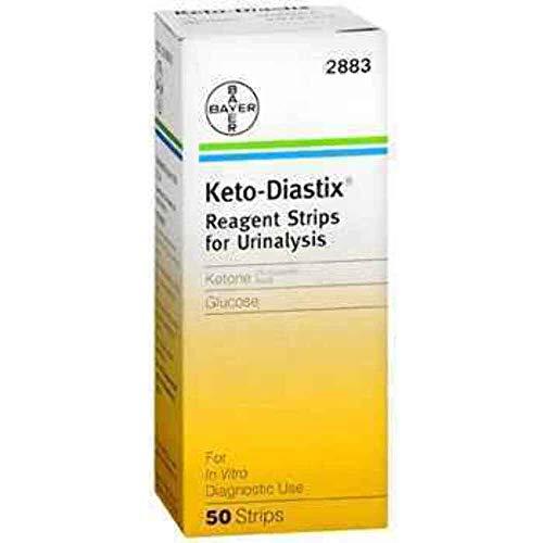 KETO DIASTIX Teststreifen, 50 St