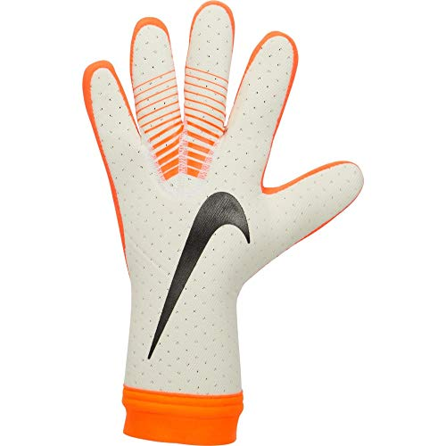 Nike Erwachsene Mercurial Touch Elite Torwarthandschuhe, White/Hyper Crimson/White/Black, 10