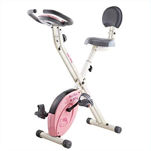 Bicicleta de ejercicios De Fitness Steppers Ultraavillados del Hogar Bicicletas De Giro Controladas Magnéticamente Plegables Ajuste De Resistencia De 8 Niveles