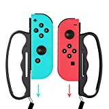 Grip for Switch Fitness Boxing, Handle for Nintendo Switch Boxing - 2 Packs (Black)