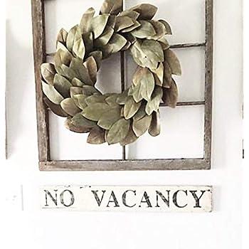 Lugii Cube de vos Feuilles de Vert artificielle Couronne de fleurs murale de porte /à suspendre D/écoration de fen/être f/ête de mariage D/écorations de No/ël Diam/ètre ext/érieur 30/cm