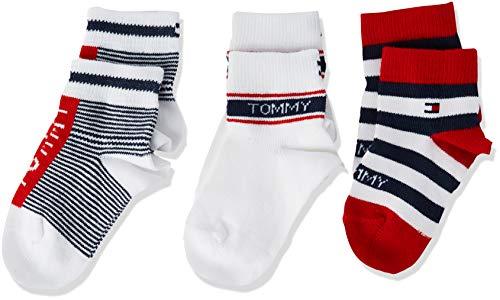 Tommy Hilfiger Baby Socks Giftbox (3 Pack) Calzini, Tommy Original, 19/22 Bimbo