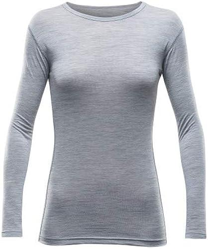 Devold Breeze femme Shirt gris melange M
