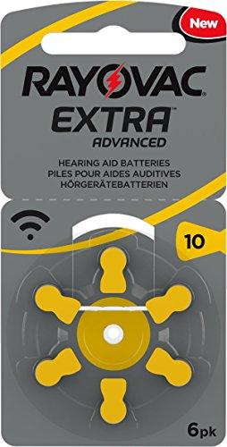 Rayovac Extra 10 - Pilas para audífonos