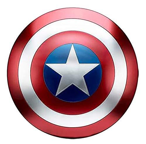 Escudo de Vestuario de Capitán América, Réplica De Marvel Prop,Capitán de América, Talla Adulto
