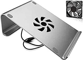 Notebook Stand, Cooling Fan Aluminum Alloy Laptop Stand Holder for 11 12 13 15 Computer Cooling Bracket