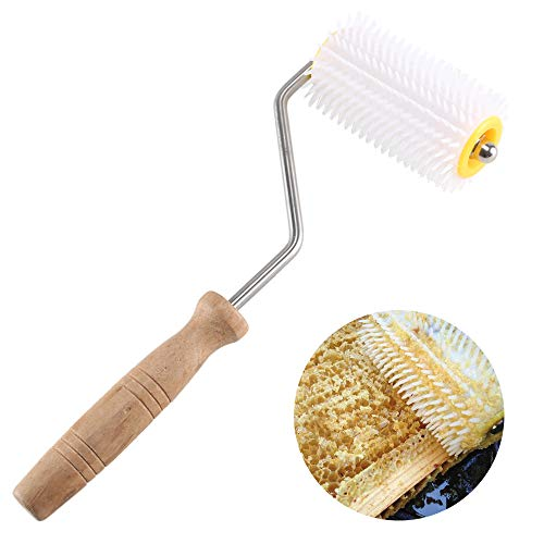 ETSAMOR Honey Extractor Plastic Uncapping Needle Roller Uncapper...