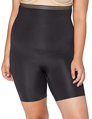 DKNY Intimates Damen Taillenslip SKYLINE - ESSENTIAL MICROF DK2020, Gr. Keine Angabe (Herstellergröße: L), Schwarz (Black/Glow R00)