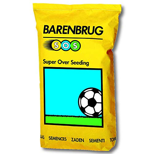BARENBRUG Rasensamen SOS Super Over Seeding 15 Kg, Sportrasen