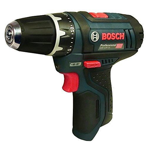 Bosch GSR 12 V-15 Akku Bohrschrauber -Solo- ohne Akku und Ladegerät
