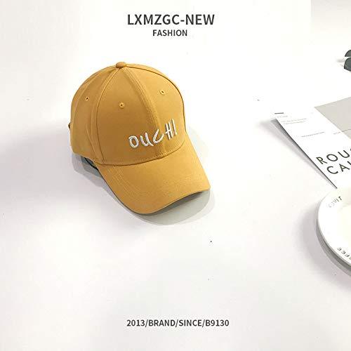 Nieuwe hoed dames Wilde dunne honkbalmuts letters mannen fluweel zonwering vizier geborduurd