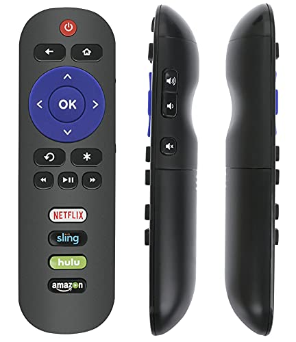 RC280 Remote Replacement fit for TCL Roku Smart TV 40S325 43S325 49S325 32S325 50S425 50S425 55S425 65S425 75S425 4 Series 32S305 28S305 40S305 43S305 43S305 32S327 55S405 43S405 49S405 65S405 32S335