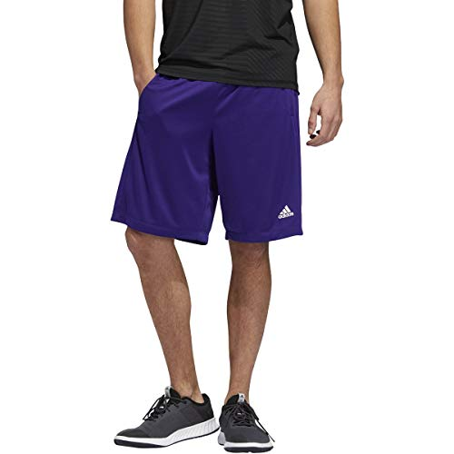 adidas Men's Clima Tech Short, Collegiate Purple/White, X-Large