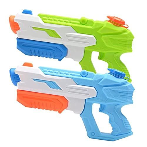 Pkfinrd Pistola de Agua, Pistolas de Chorro de Agua para niños Adultos, Verano Playa Piscina Fiesta Agua Pistolas para niños pequeños niños niños niñas