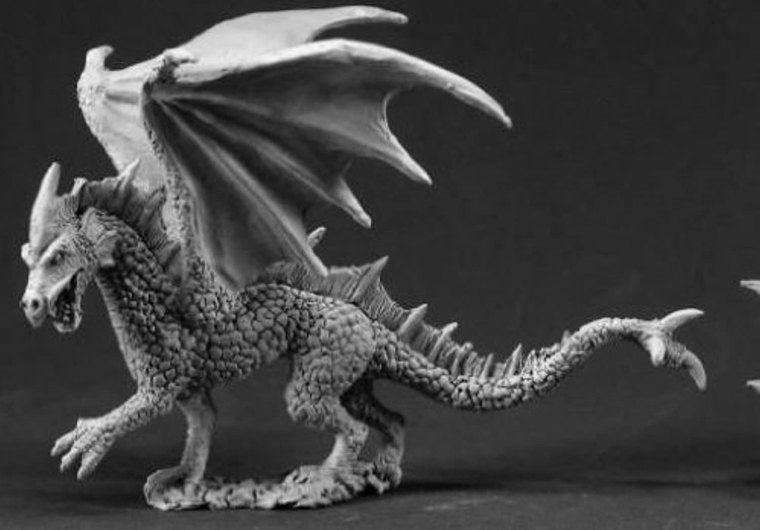 Reaper Miniatures 3338 Young Ice Dragon by Reaper Minatures