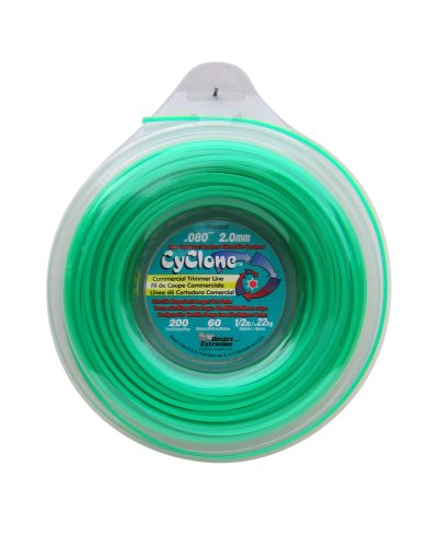 Cyclone .080-Inch-by-200-Foot Spool Commercial Grade 6-Blade 1/2-Pound Grass...