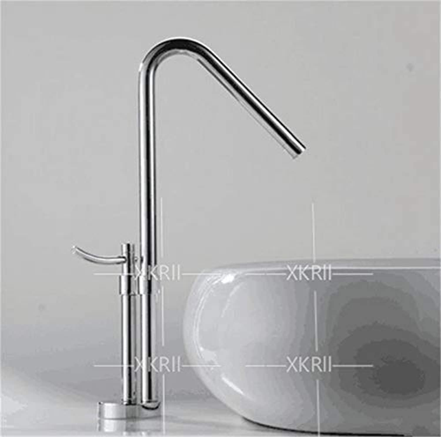 SEBAS HOME Taps ?Copper Hot And Cold Basin Faucet Above Counter Basin Wash Art Faucet