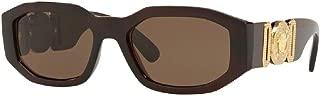 VE4361 MEDUSA Rectangle Sunglasses For Men For Women+FREE Complimentary Eyewear Care Kit