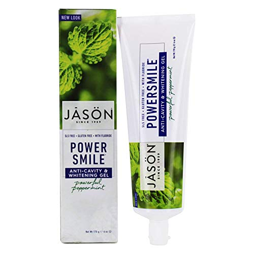 JASON NATURAL PRODUCTS Tooth paste Powersmile, 0.31 Pounds