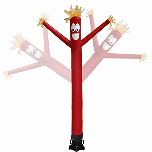 Mkevi 20 feet Inflatable Tube Man Sky Air Puppet Dancer