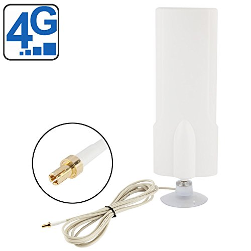 Sevenplusone licht en mooi, gemakkelijk te dragen. Binnenantenne 25dBi TS9 4G hoge kwaliteit, kabellengte: 2 m, afmetingen: 20,7 cm x 7 cm x 3 cm, eenvoudig te installeren