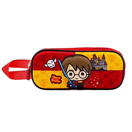 KARACTERMANIA Harry Potter Sword-Estuche Portatodo 3D Doble, Multicolor