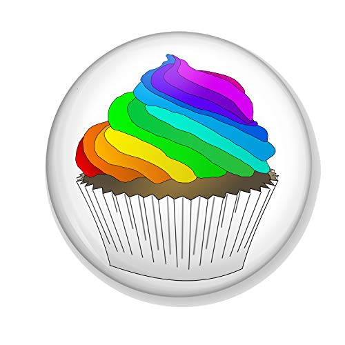 Gifts & Gadgets Co. You Don't Have To Be Straight To Enjoy A Cupcake Magnet Flaschenöffner, 58 mm Durchmesser