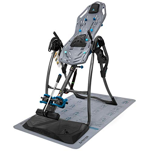 Teeter FitSpine LX9 Inversion Table, 2019 Model, Deluxe EZ-Reach Ankle Lock System, Back Pain Relief...