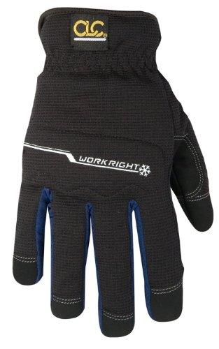 CLC Custom Leathercraft L123X Workright Winter Flex Grip Work Gloves, Extra Large