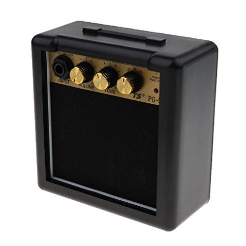 Amplificador Pequeño De Guitarra Eléctrica Conecta Los Auriculares Para El Rendimiento De...