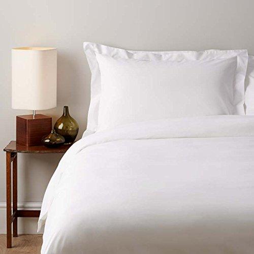 SOAK AND SLEEP Classic Egyptian 200TC Cotton - King Duvet Cover - White