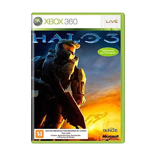 Jogo Halo 3 - Xbox 360 Mídia Física Usado