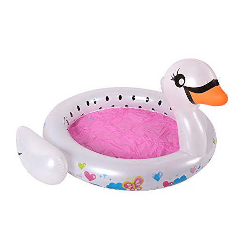 BANZAI Swan Splash Pool, Multicolor