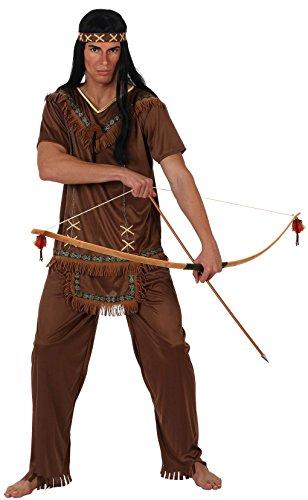 ATOSA disfraz indio hombre adulto marrón XL
