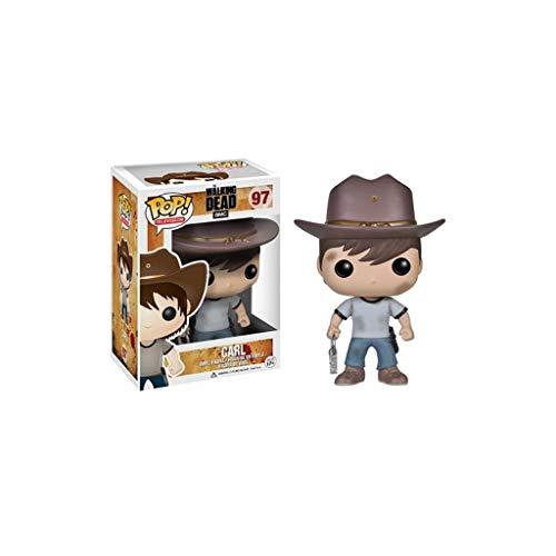 Lxyy YF Pop TV: The Walking Dead - Carl Grimes Vinyl Figure e Exquisite Box Collection Vetrina Giocattoli Decorativi 3,9 Pollici Personaggi Popolari