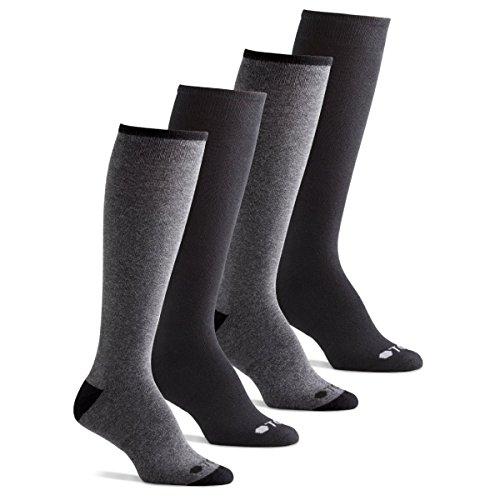 TCS Women's Cushioned Comfort Cotton Knee High Boot Socks