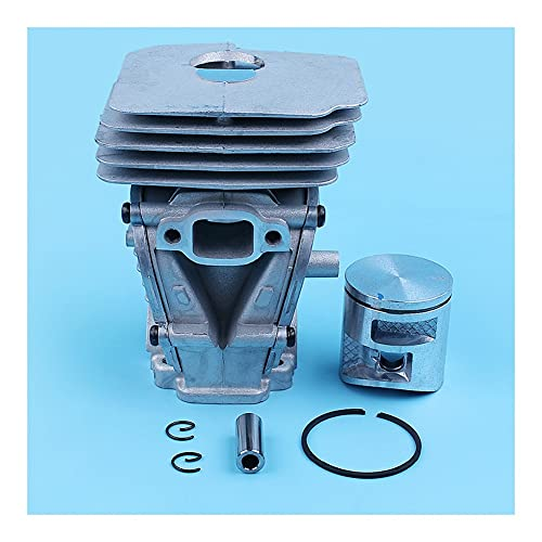 Kit de anillo de pistón de cilindro de 41 mm for Husqvarna 135 140 135e 140e for motosierra Mano de obra fina (Color : China)