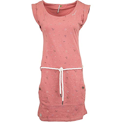 Ragwear Tag AA Organic Kleid/Rock (XL, Dusty red)