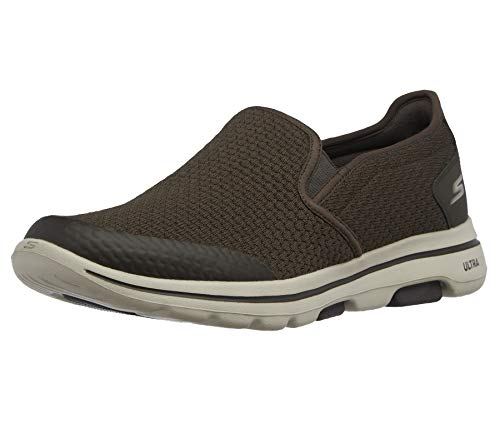 Skechers GO Walk 5 APPRIZE, Sneaker Hombre, Verde Olive, 41 EU