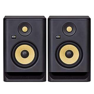 "KRK RP5 Rokit 5 G4 Professional Bi-Amp 5"" Powered Studio Monitor Pair, Black (B07YZP99W3) | Amazon price tracker / tracking, Amazon price history charts, Amazon price watches, Amazon price drop alerts"