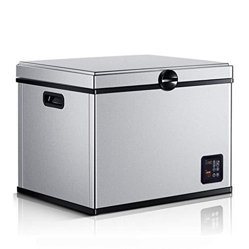 WANNA.U Compresor de refrigeración para el coche, 12 V/24 V, para el coche, camión, nevera de 220 V, minicongelador, la temperatura más baja es de -20 °C.