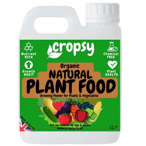 CROPSY Natural Plant Food Organic Liquid Fertiliser Outdoor Indoor Plants...