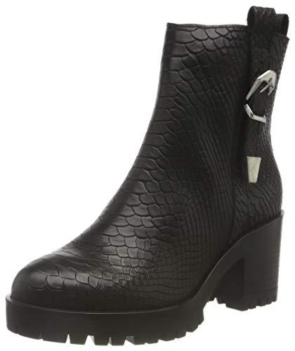 Buffalo Damen MADDIE Mode-Stiefel, BLACK, 40 EU