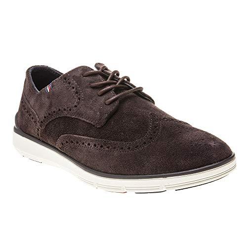 Tommy Hilfiger Herren Lightweight City Suede Shoe Chelsea Boots, Braun (Coffee Bean 212), 40 EU